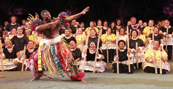 Traditional Fijian Meke Dance