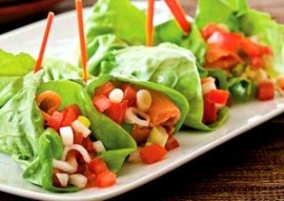 Lettuce wrap from Cooking Hawaiian Style
