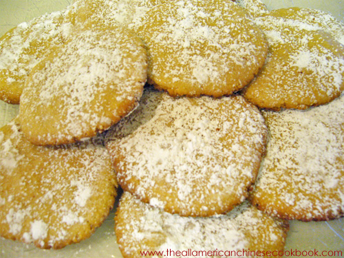 Chinese Tea Cookies Recipe