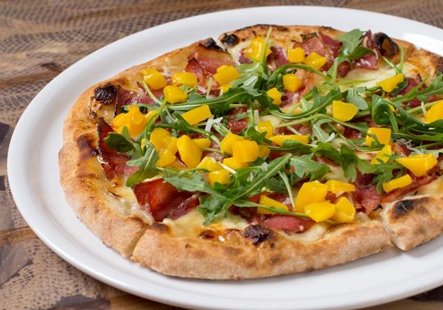Hawaiian Pizza with a twist