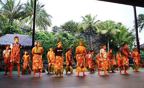 Polynesian Cultural Center 25th annual Samoan World Fireknife Championship