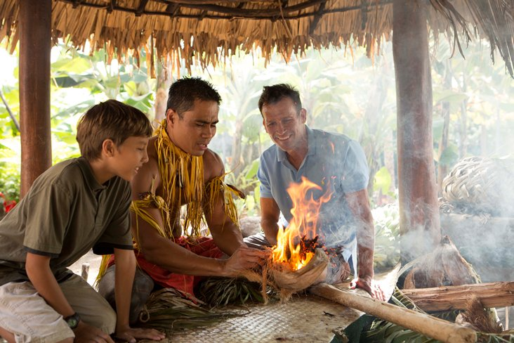 How to start a file at the Samoan Village in The Polynesian Cultural Center
