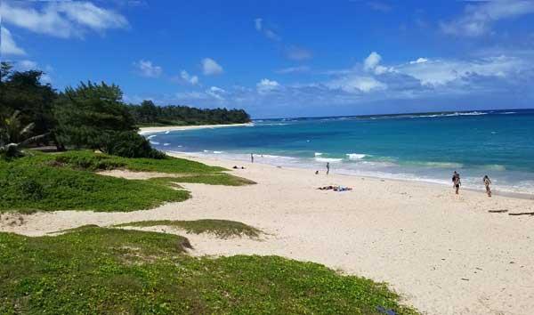 Laie Bay - Hukilau Beach