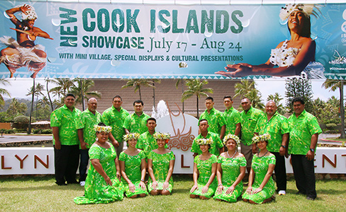 Cook Islanders at Polynesian Cultural Center