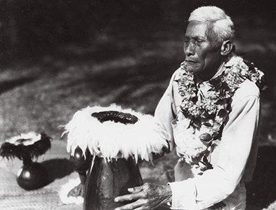 """Kuluwaimaka, """"the last court chanter"""""""