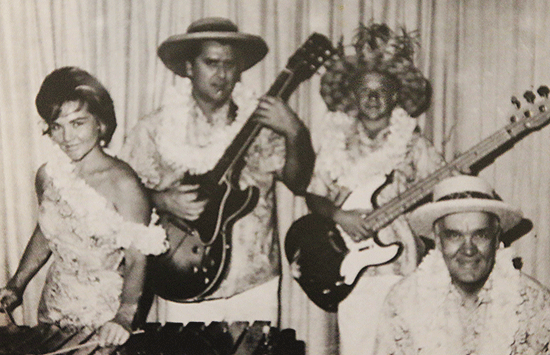 Steve Cheney and The Islanders family band