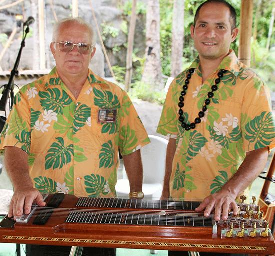 Steve (left) and Ben Cheney