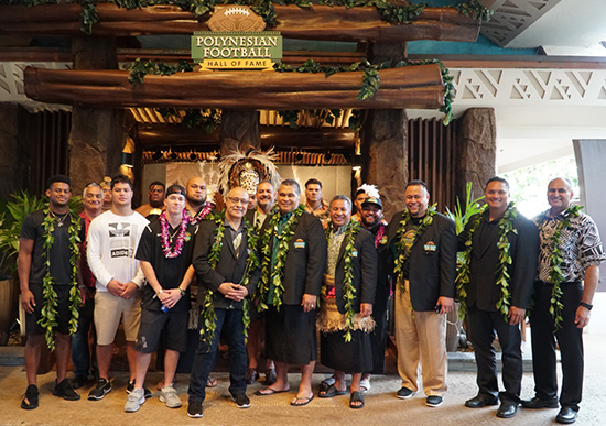 Polynesian Football Hall of Fame and the Polynesian Cultural Center