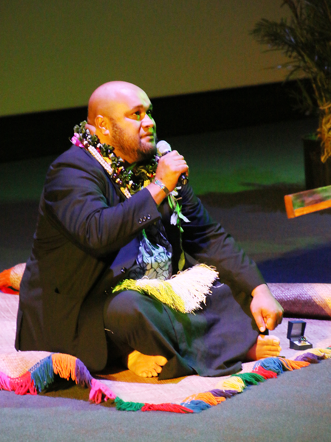 Ma'ake Kemoe'atu at the Polynesian Cultural Center