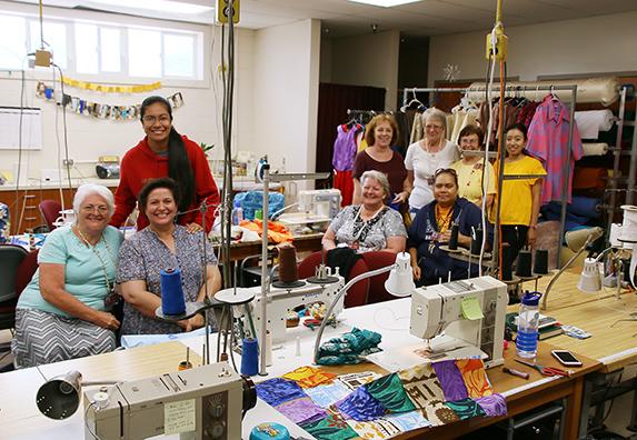 Polynesian Cultural Center seamstresses