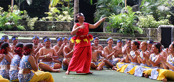 Waipahu High students in the We Are Samoa Festival