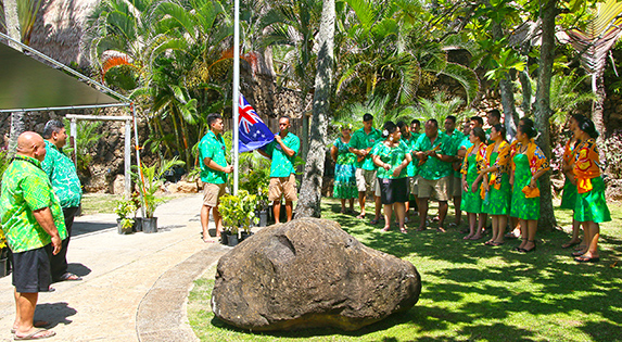 Cook Islanders at the Polynesian Cultural Center