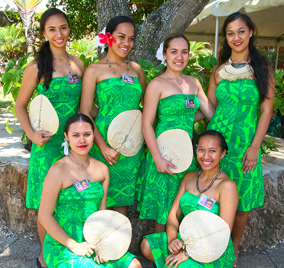 Cook Islands women at the Polynesian Cultural Center