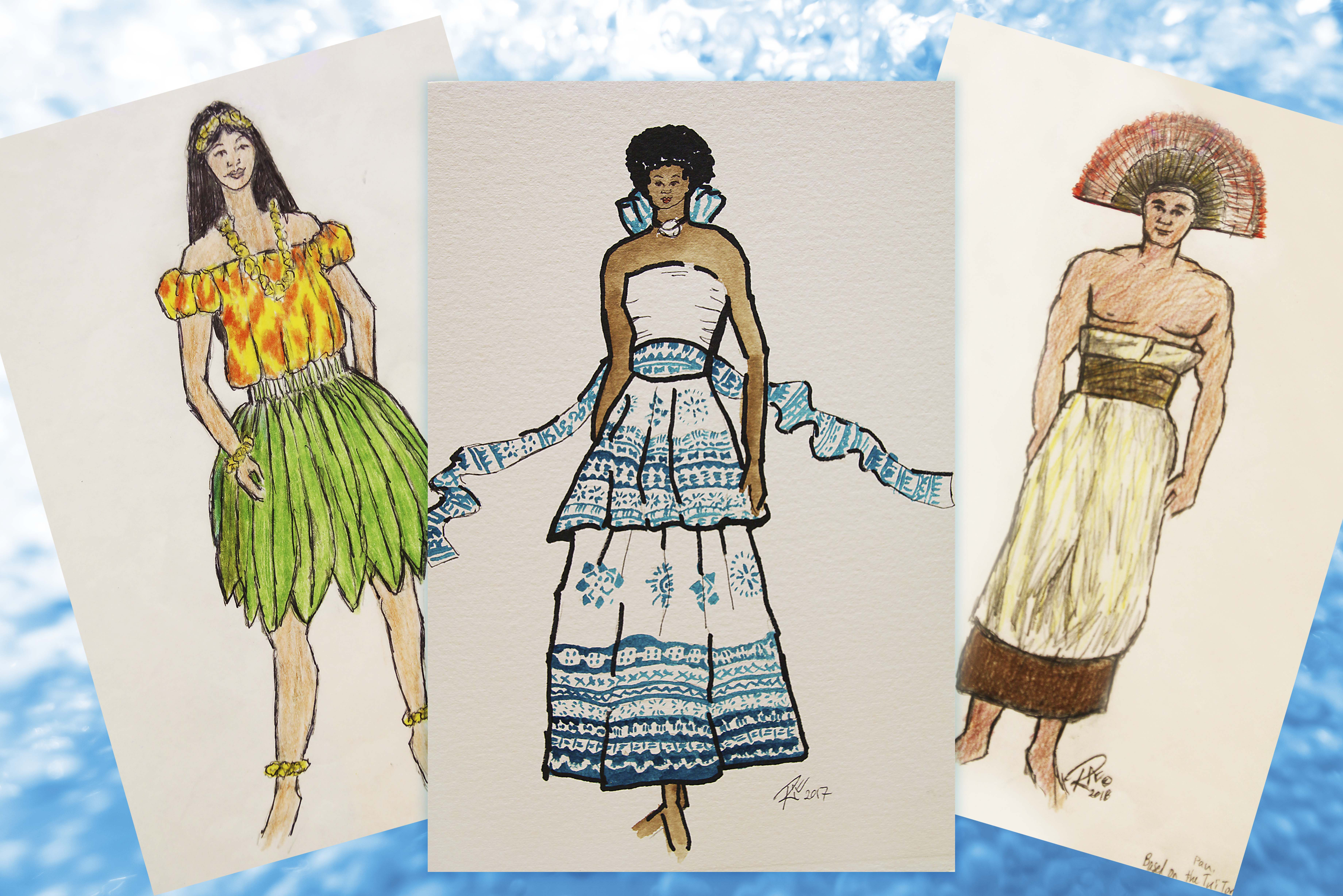"""""""Huki"""" costumes take a year-plus to design and produce"""