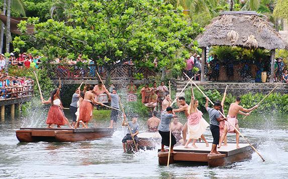 Huki, the Polynesian Cultural Center's new canoe celebration