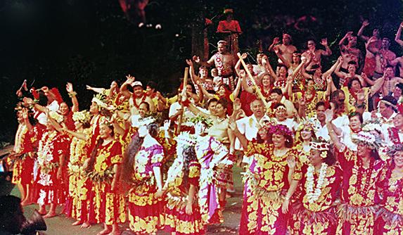 Polynesian Cultural Center 30th anniversary alumni show finale