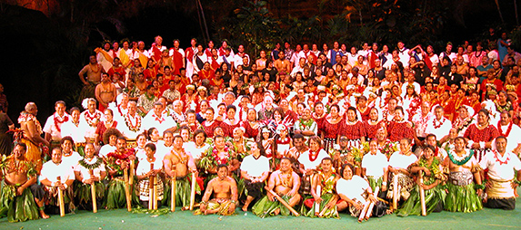 Polynesian Cultural Center 2003 alumni evening show cast