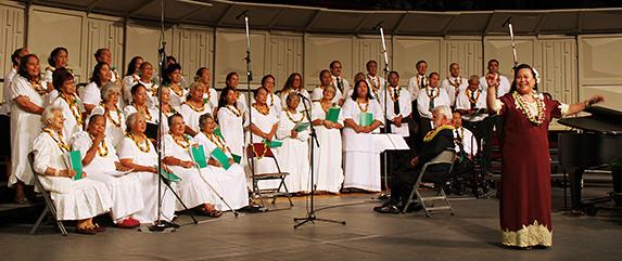 Hawaiian choir, PCC 50th anniversary