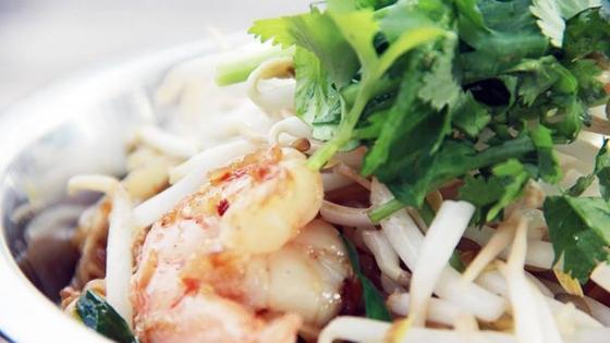 Shrimp dish at The Elephant Shack