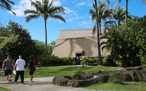 Hawaiian Village chief's house
