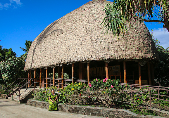 PCC Samoan Village chief's house
