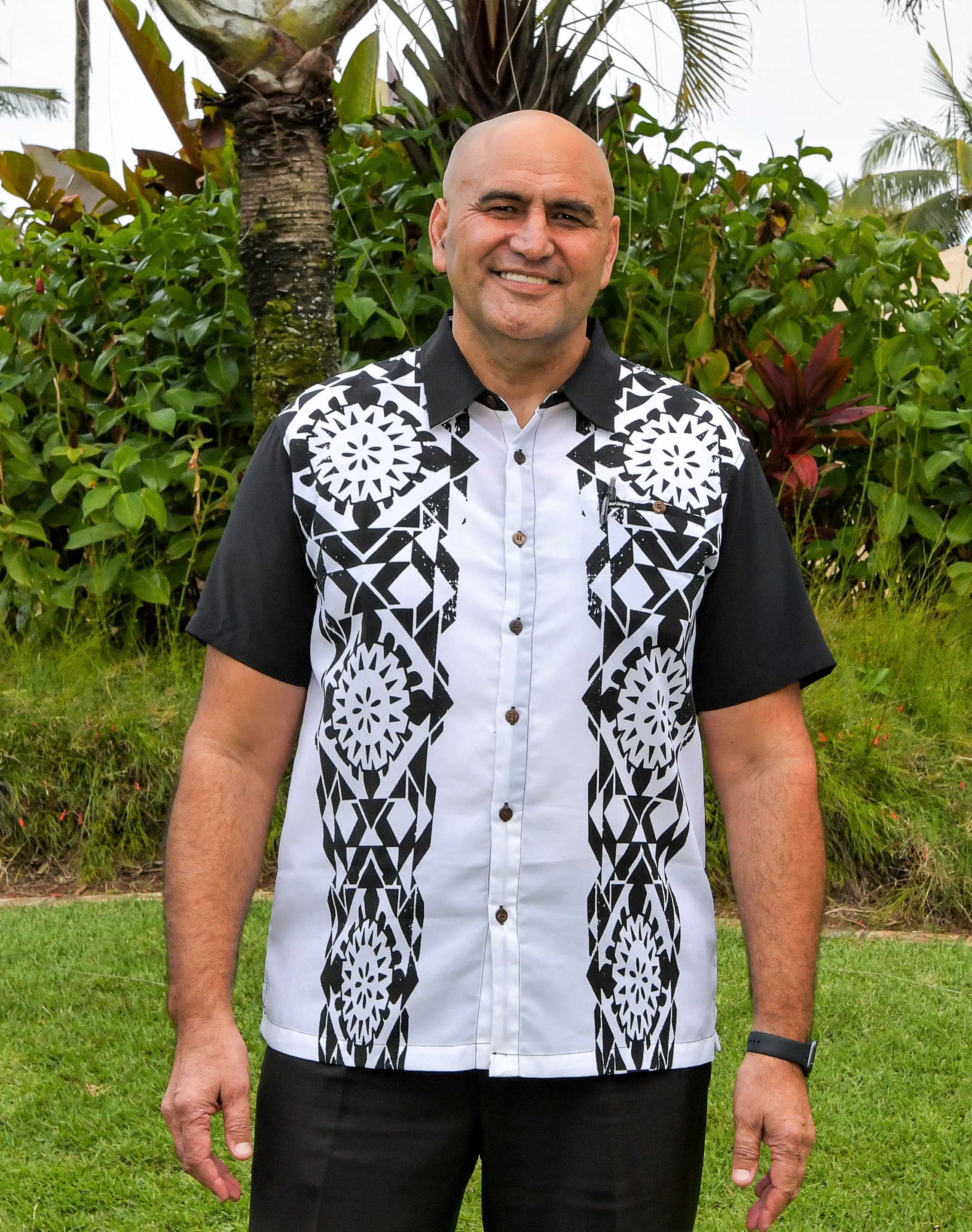 P. Alfred Grace, President and CEO of the Polynesian Cultural Center