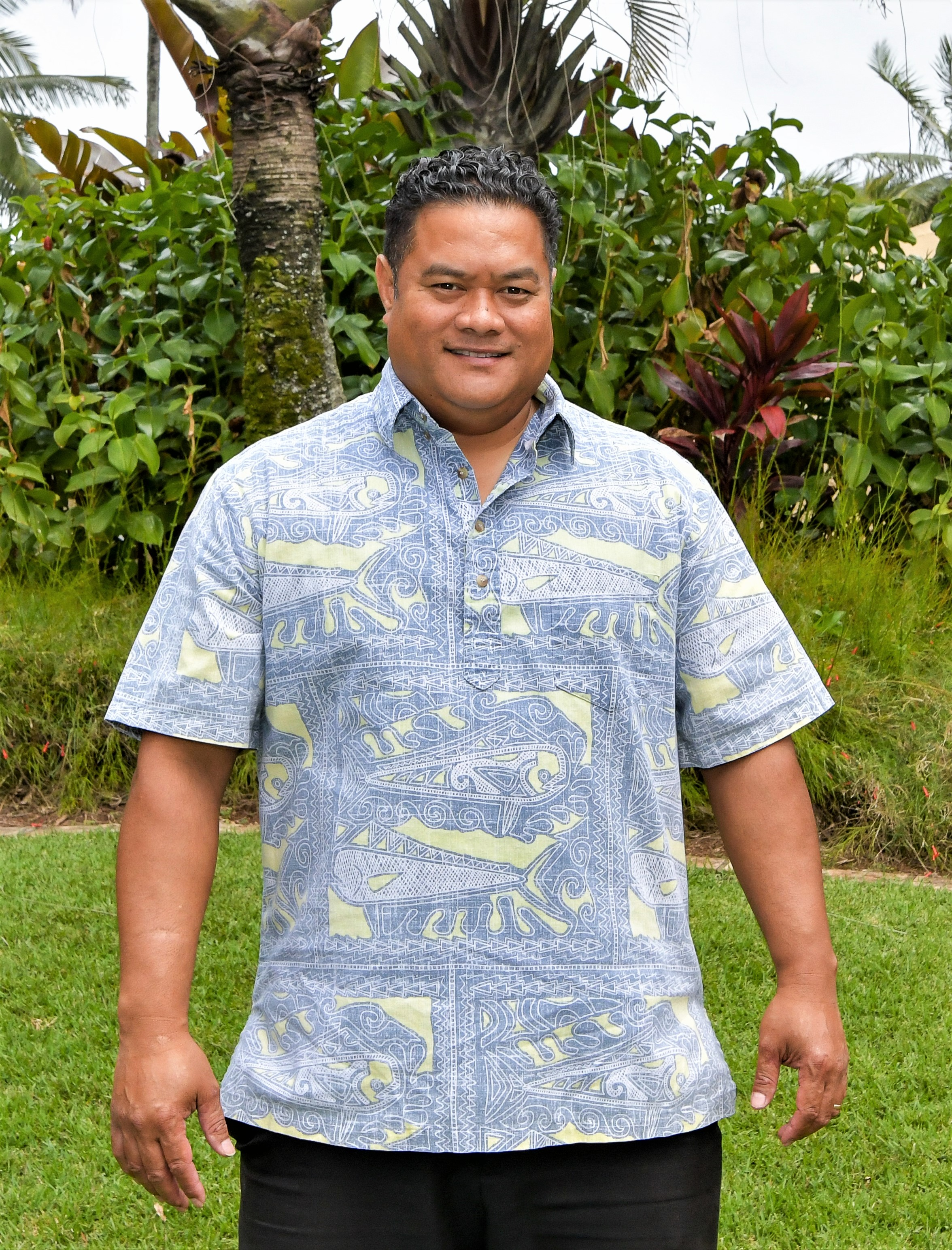 Jerome Uluabe, Vice President of Facilities Management, the Polynesian Cultural Center