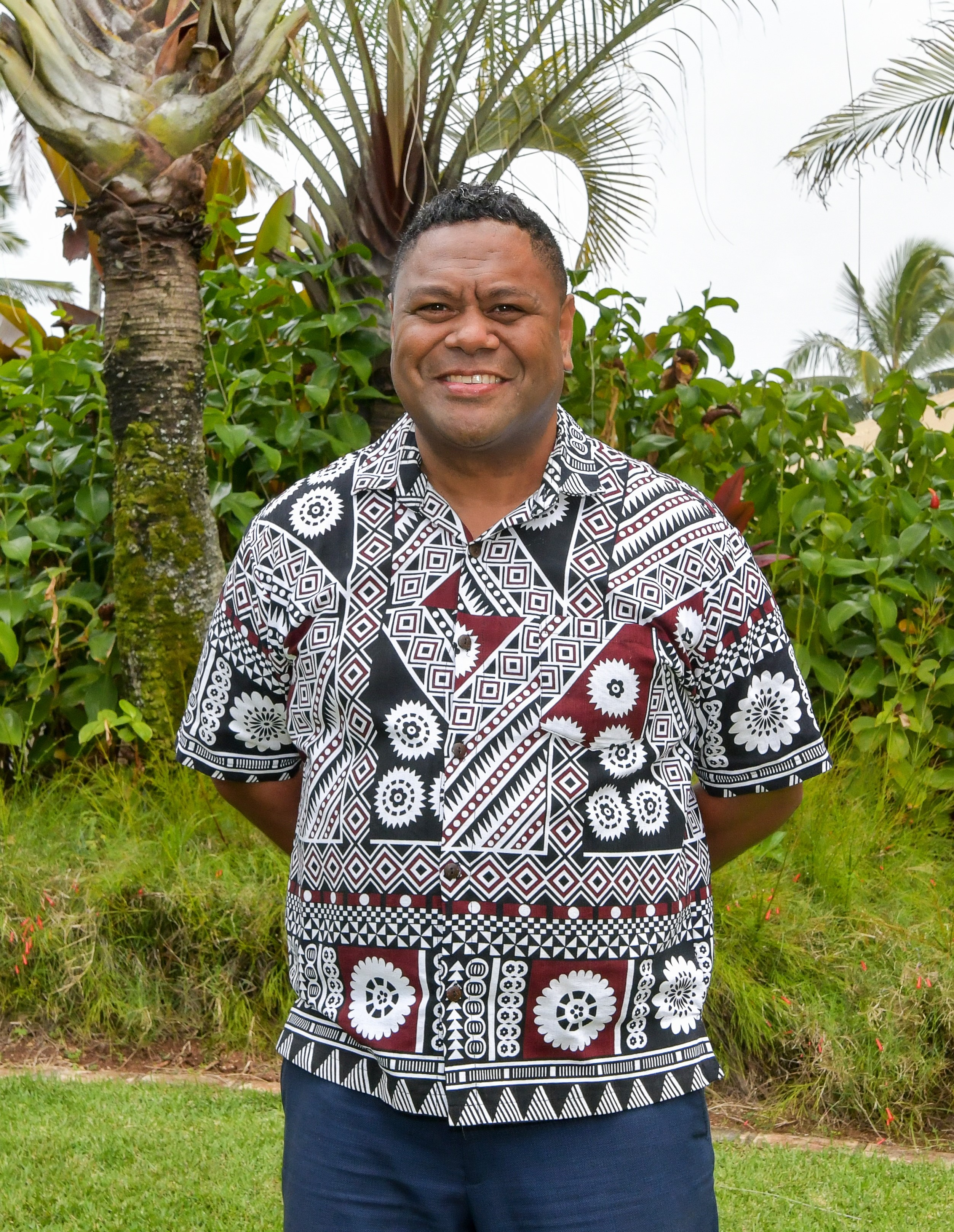 photo of Tai Vuniwai, Vice President of Human Resources at the Polynesian Cultural Center