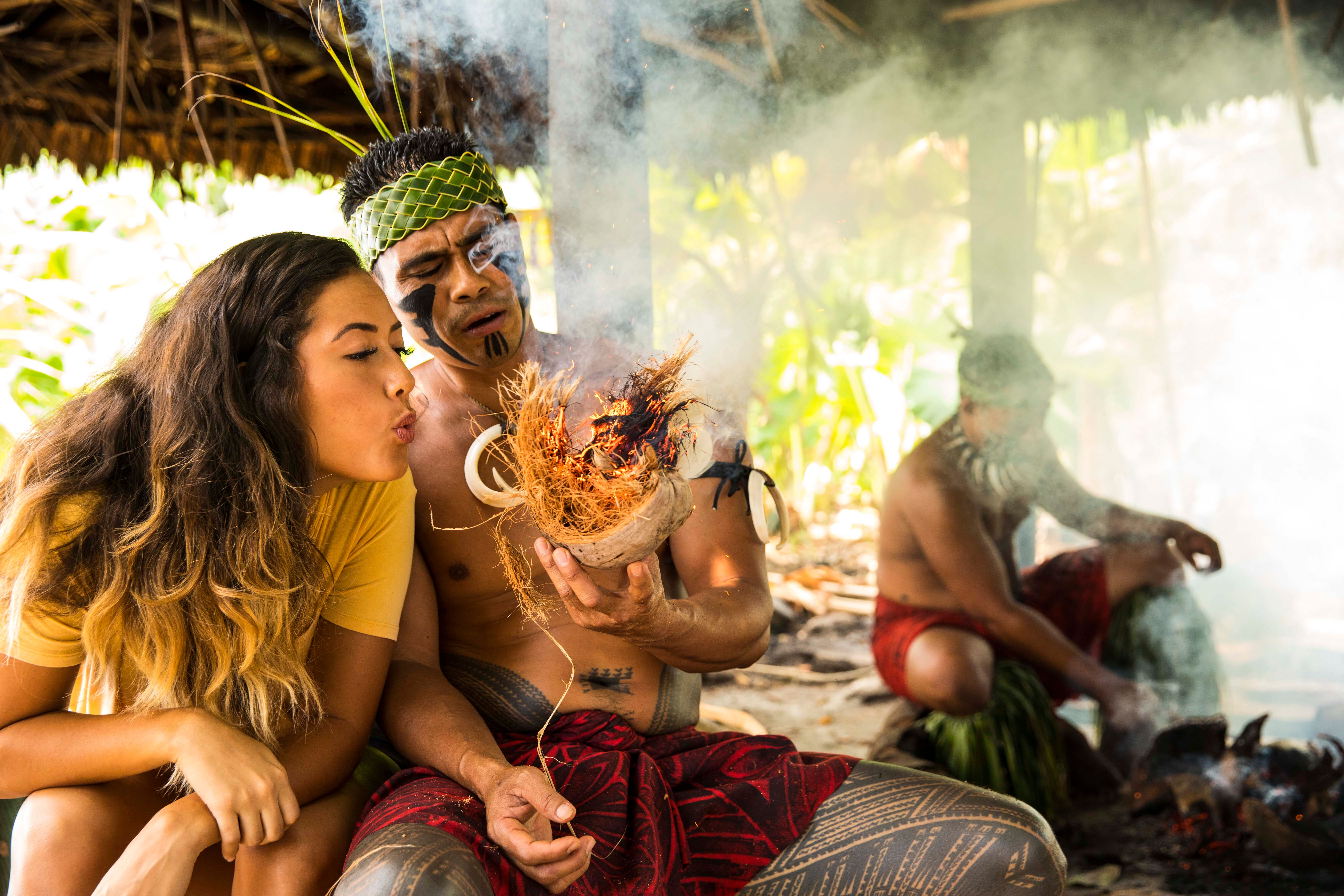 A one-of-a-kind hands-on Polynesian cooking experience