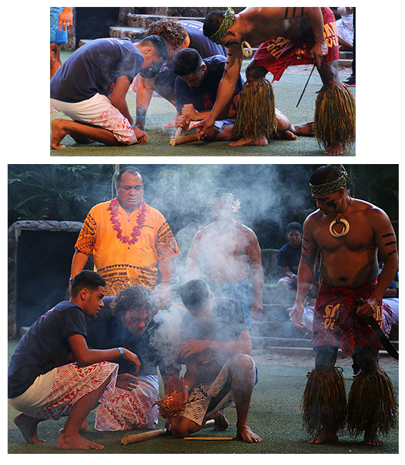 Samoan fire making