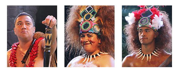 talking chief, taupou and manaia