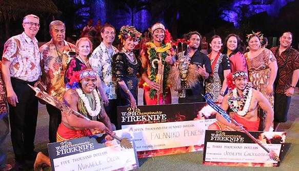 Penesa wins 2019 World Fireknife Championship title