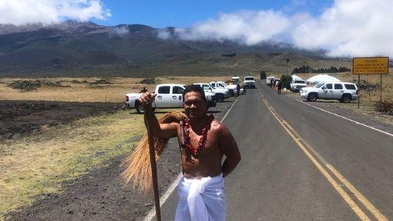 photo of Kap Teo-Tafiti at the base of Mauna Kea during a recent visit