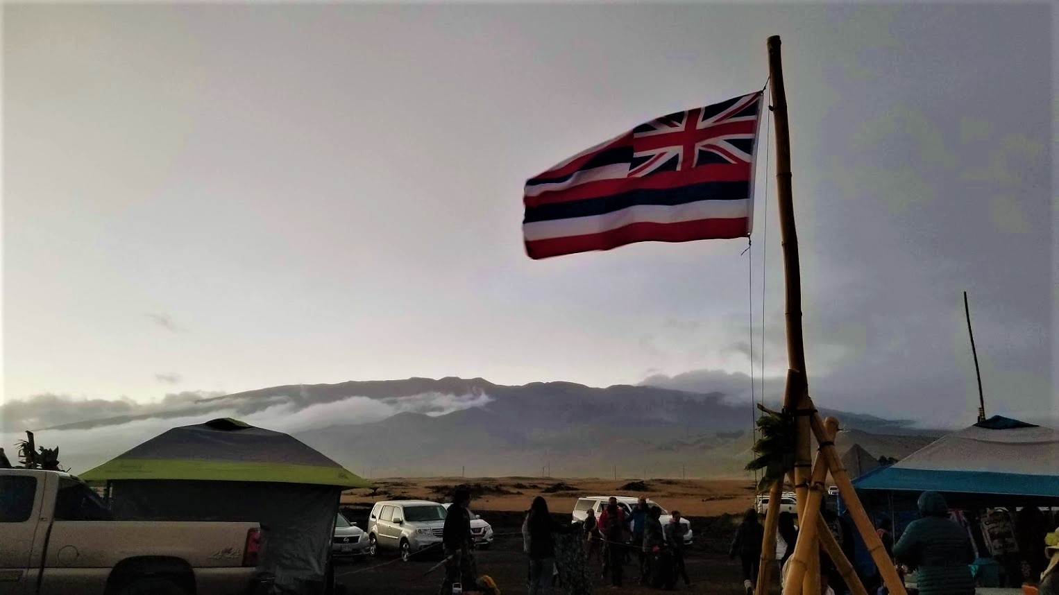 Why Mauna Kea protectors are supported by PCC