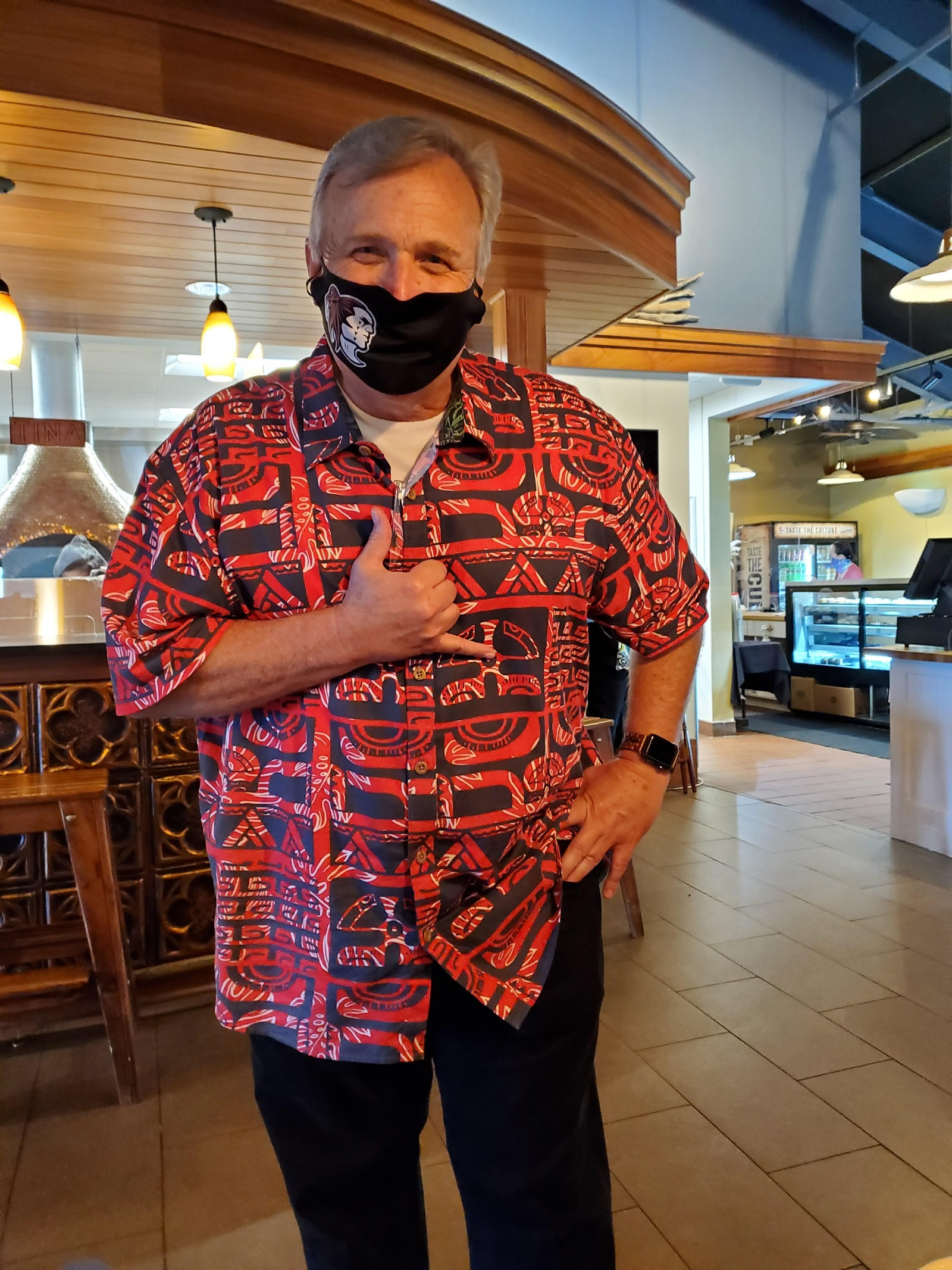 Greg Maples, the Manager of Food Services at the Polynesian Cultural Center, in Pounders Restaurant