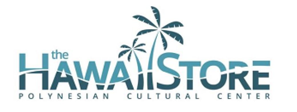 legal logo of The Hawaii Store, owned and operated by the Polynesian Cultural Center
