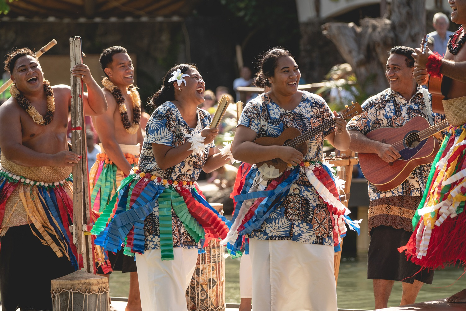 Working at the Polynesian Cultural Center