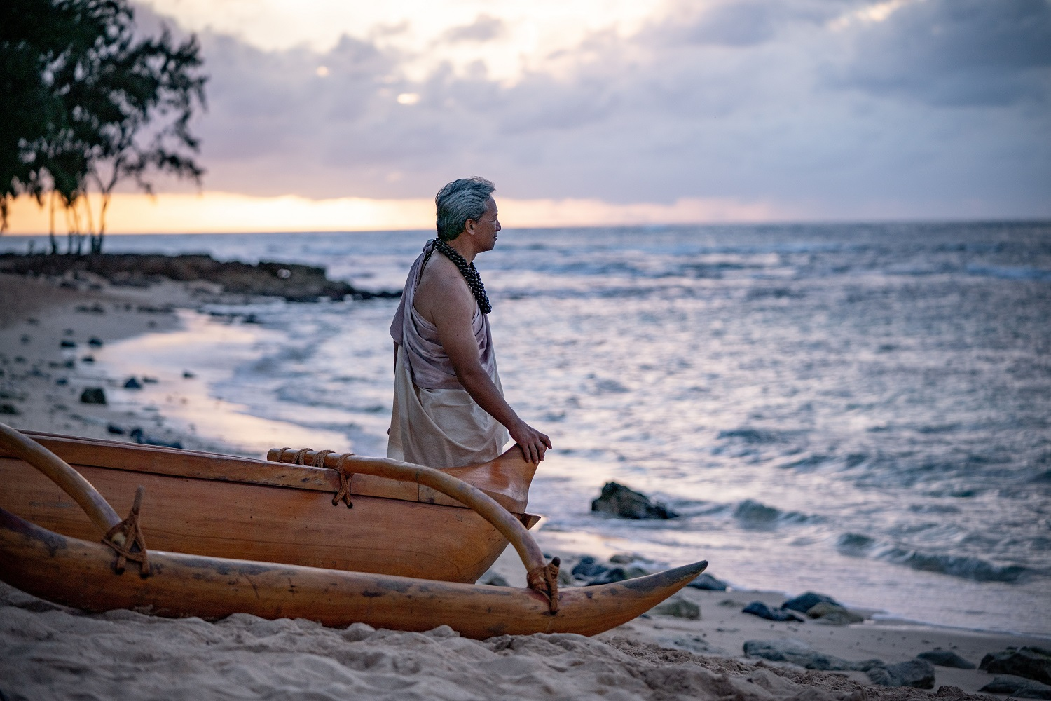 image showcases the connection Hawaiians feel between their culture and the sea.