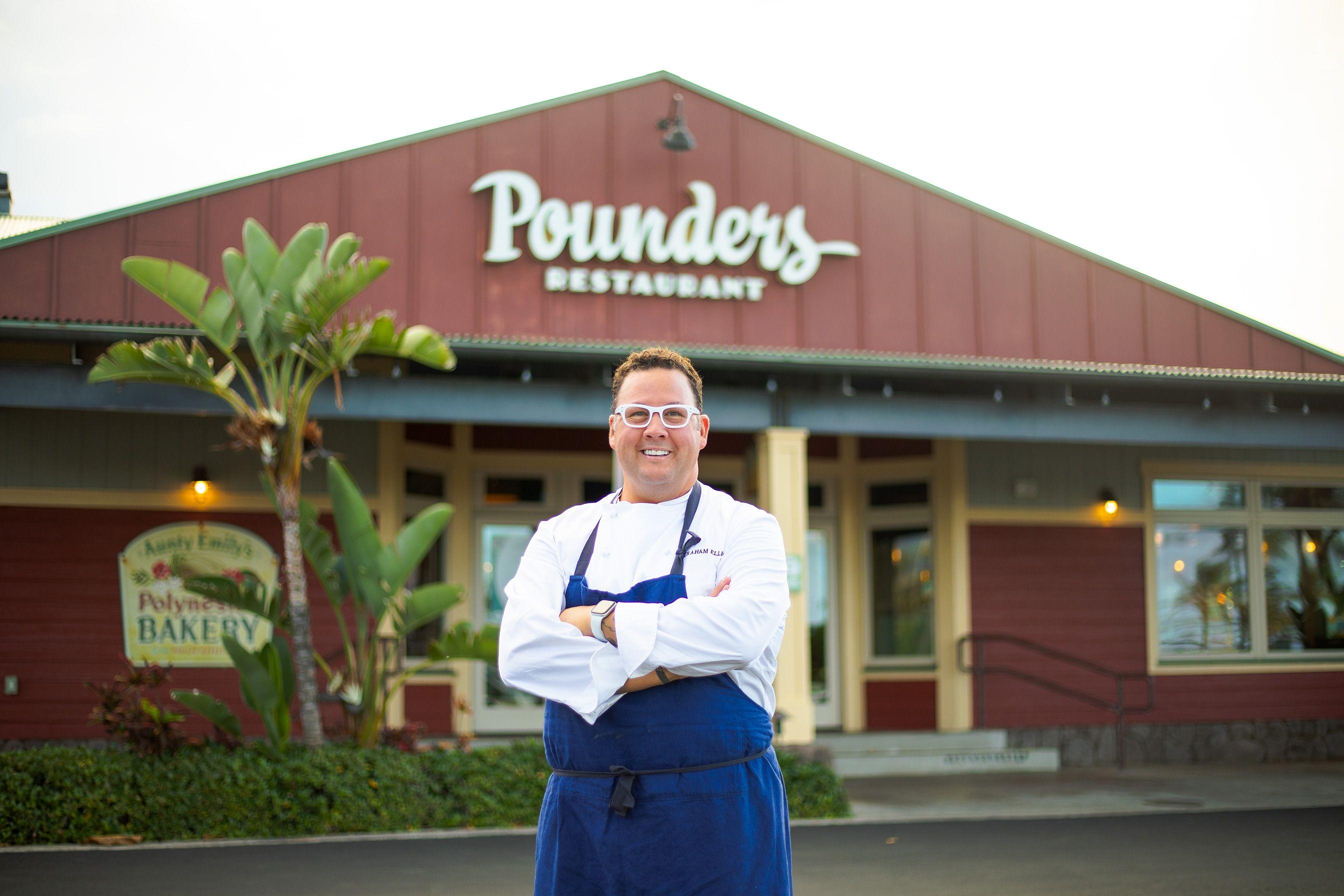 Graham Elliotnamed Executive Chef at Pounders