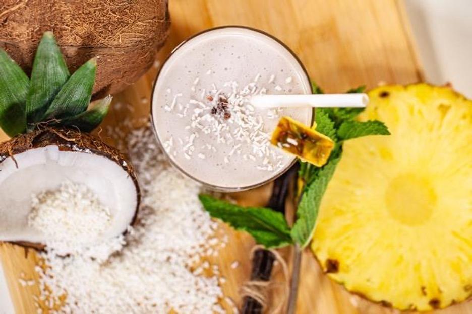 Coconut Slush for Kids