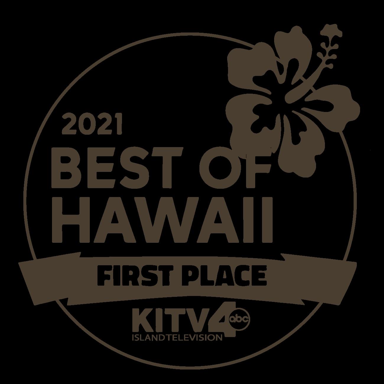 Best of Hawaii 1st place KITV4 ABC