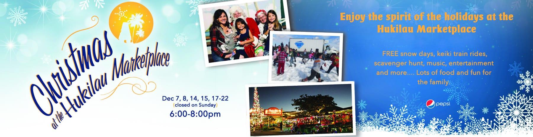 Christmas at the Hukilau Market Place
