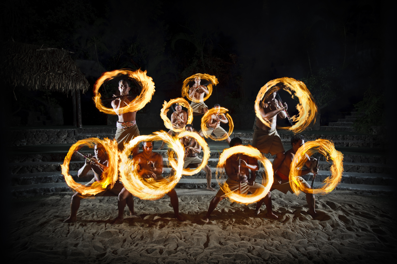Fireknife dancing - Ha: Breath of Life show
