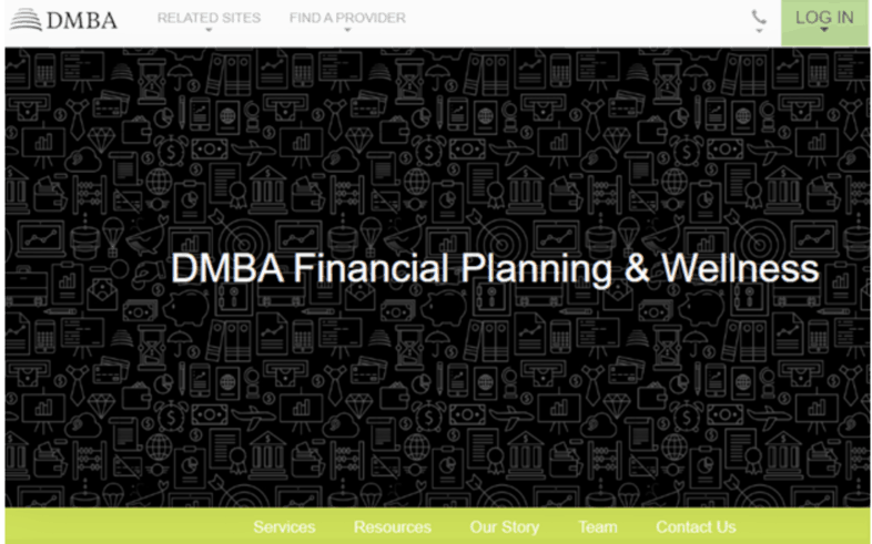 DMBA Financial Planning home page