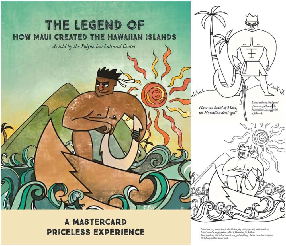 Maui colorbook