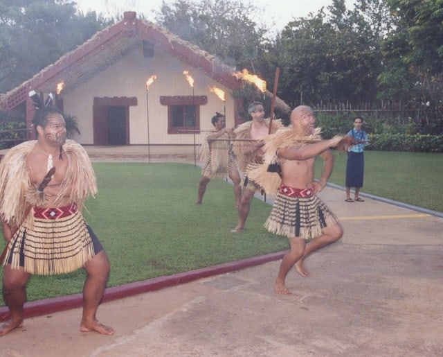 Seamus Fitzgerald and the Maori Warriors
