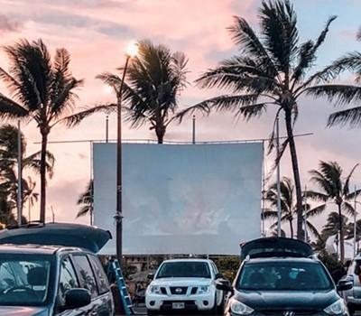 cars watching movie