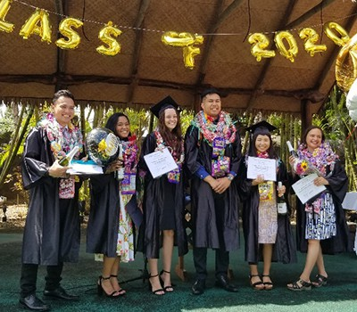 Awarding the Retail Graduates