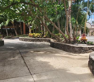 Hale Aloha - New Entrance