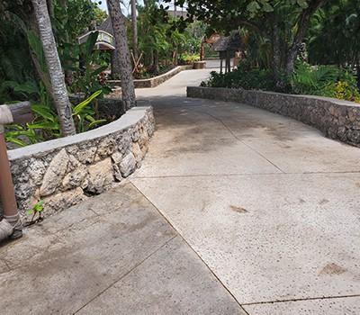 New Sidewalk Hale Aloha